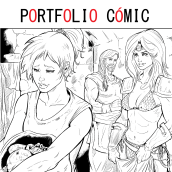 Portfolio Cómic. A Illustration, Character Design, Fine Art, Comic, Drawing, Digital illustration, Stor, telling, Stor, board, Artistic drawing, Digital Drawing, and Figure drawing  project by Rubén de Frutos - 03.22.2021