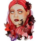 Mi Proyecto del curso: Retrato ilustrado en acuarela. A Illustration, Fine Art, Drawing, Watercolor Painting, and Portrait illustration project by Raquel Català Pons - 03.22.2021