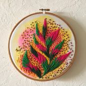 Mi Proyecto del curso: Bordado creativo: revolución a puntadas. A Embroider project by ainhoa1980 - 03.23.2021