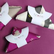 Furoshiki packaging. Um projeto de Direção de arte e Packaging de Aidearte · estudio de diseño - 23.11.2020