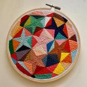 Estudio de color y textura. A Stickerei project by Coricrafts - 23.03.2021