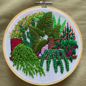 Plant Galore. A Stickerei project by Coricrafts - 23.03.2021