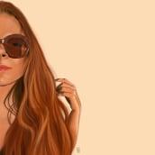 Self portrait. A Portrait illustration project by Ilaria Miniussi - 03.24.2021