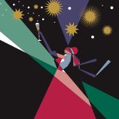 Vinos espumosos. Un projet de Illustration éditoriale de Santiago Solís Montes de Oca - 25.03.2021