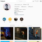 Meu projeto do curso: Estratégia de marca no Instagram. . Un proyecto de 3D de Dan Cristian - 26.03.2021