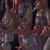 Un cuento a la medianoche. Un proyecto de Ilustración infantil de Enrique Torralba - 26.03.2021