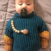 Mi Proyecto del curso: Crochet: crea prendas con una sola aguja. Un proyecto de Crochet de sheilacastellanosbaron - 12.02.2021