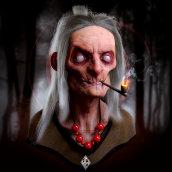 Blind Witch - Mi Proyecto del curso: Creación de pelo 3D con XGen de Maya . Um projeto de 3D, Modelagem 3D, Design de personagens 3D e 3D Design de Juan Carlos Muñoz Cabornero - 27.03.2021