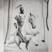 Mi Proyecto del curso: Técnicas de ilustración artística con grafito. Un progetto di Illustrazione, Character Design, Creatività , e Disegno a matita di Roberta Nozza - 29.03.2021