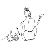 Logos y Diseños lineales . Um projeto de Design, Ilustração, Ilustração digital e Design digital de Camila Gil Prandi - 02.02.2021