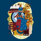 Naturaleza ancestral. Un progetto di Illustrazione vettoriale di Clara Megías - 30.03.2021