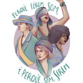 Perquè fórem . Un proyecto de Ilustración, Ilustración digital e Ilustración de retrato de Amalia Torres - 30.03.2021