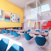 Proyecto Colegio - Karina Paulet /Tesis de Grado. Un progetto di Architettura , e Architettura digitale di Giancarlo Pava Durand - 30.03.2021