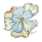 My project in Botanical Sketchbooking: A Meditative Approach course. Un proyecto de Ilustración, Pintura a la acuarela e Ilustración botánica de Lapin - 31.03.2021