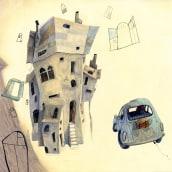 La casa de las mil ventanas. Un proyecto de Ilustración infantil de Enrique Torralba - 01.01.2007