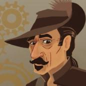 Mi Proyecto del curso: Ilustración de caricaturas vectoriales. Un proyecto de Ilustración digital de Victor Rapino - 31.03.2021