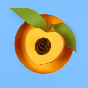 Frutas. . A 3D, Paper Craft, Icon design, and Photographic Composition project by Diana Beltran Herrera - 03.31.2021
