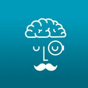 Mr Brain. Um projeto de Ilustração e Design de logotipo de Ana Apezteguía Martínez - 14.06.2018