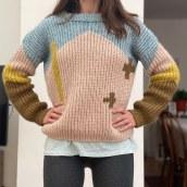My project in Creating Garments Using Crochet course. Um projeto de Artesanato e Crochê de Elif Kilic - 31.03.2021