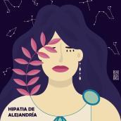 Hipatia. Un progetto di Illustrazione vettoriale di Clara Megías - 01.04.2021