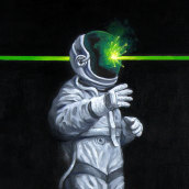 The Seven Deadly Sins (of Space). A Painting, and Oil painting project by Rubén Megido - 04.02.2021