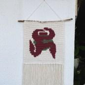 Meu projeto do curso: Intarsia crochê: teça suas tapeçarias. Um projeto de Decoração de interiores e Crochê de Mari Blessa - 03.04.2021
