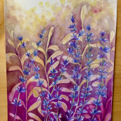 My project in Negative Watercolor Painting for Botanical Illustration course. Un projet de Aquarelle de Luisa Di Sarno - 04.04.2021