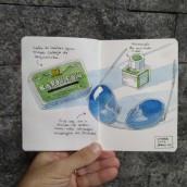 Meu projeto do curso: Urban Sketching: expresse o seu mundo com uma nova perspectiva. Um projeto de Ilustração de Aurélio Rauber - 04.04.2021
