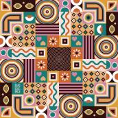 Mosaicos. Un progetto di Illustrazione vettoriale di Clara Megías - 05.04.2021