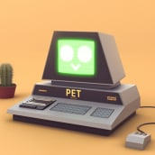 PET 2001. A 3D, 3D Animation, and 3D Character Design project by Rafael Carmona - 04.05.2021