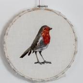 Mi Proyecto del curso: Pintar con hilo: técnicas de ilustración textil. Um projeto de Artesanato, Criatividade, Bordado e DIY de Tatiana Oller Ramirez - 05.04.2021