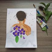 Mi Proyecto del curso: Creación de paletas de color con acuarela. Un proyecto de Ilustración, Bellas Artes y Pintura a la acuarela de Anabell Jorge - 05.04.2021