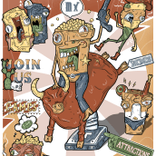Ilustración digital (Guacala Studio). Un proyecto de Ilustración digital de Beatriz Vazquez Cid - 06.04.2021