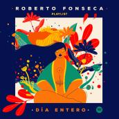 """Ilustración para la Playlist en Spotify """"Día entero"""" de Roberto Fonseca. Un proyecto de Ilustración y Diseño gráfico de Marla Cruz Linares - 14.12.2020"""