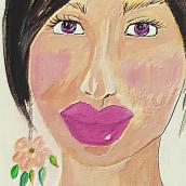 "MarArtesOficial - Florescer ""Aprendiz"". A Painting, Pencil drawing, Watercolor Painting, Artistic drawing, Acr, lic Painting, and Gouache Painting project by MarArtesOficial - 03.24.2021"