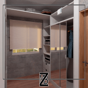 Vestidor - Dressing Room. A Architecture, and 3d modeling project by Belén Zalazar - 04.06.2021