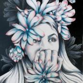 My project in Chiaroscuro Creative Portrait with Pencils course. Un proyecto de Ilustración, Bellas Artes, Bocetado, Creatividad, Dibujo a lápiz, Dibujo, Ilustración de retrato, Dibujo de Retrato, Dibujo realista, Dibujo artístico y Teoría del color de Colette Reed - 07.04.2021