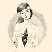 Autopsia . A Illustration, Fine Art, Creativit, Digital illustration, Digital Drawing, Digital Painting & Ink Illustration project by Dayana Montesano - 01.01.2021
