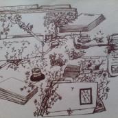 Tinta viva. A Illustration, Creativit, Drawing, and Artistic drawing project by Angfany Guevara - 04.08.2021