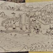 Mi Proyecto del curso: El arte del sketching: transforma tus bocetos en arte. A Creativit, Drawing, and Artistic drawing project by Martina Reynoso - 04.08.2021
