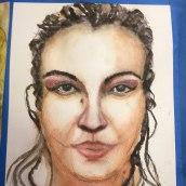 My project in Watercolor Portrait from a Photo course. Un proyecto de Pintura a la acuarela de Marybeth Andrews - 08.04.2021