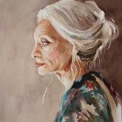 Watercolor Portraits: Age. A Illustration, Fine Art, Painting, Watercolor Painting, Portrait illustration, Portrait Drawing, and Self-Portrait Photograph project by Michele Bajona - 04.08.2021