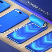 Honor View 20 Mobile. Un projet de 3D, Animation, Animation 3D, Modélisation 3D, Conception mobile , et Conception 3D de Dan Zucco - 16.11.2020