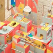 Tink. Un projet de 3D, Animation, Cinéma, Création de motifs, Illustration vectorielle, Animation 3D, Modélisation 3D , et Conception 3D de Dan Zucco - 15.04.2019