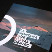 La montaña que llevas dentro - Sierra Nevada. Um projeto de Design editorial e Design gráfico de David Crispín - 14.07.2015