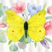 Mein Kursprojekt: Naturalistische Zeichnung und Komposition mit Aquarell. A Watercolor Painting, and Botanical illustration project by Sylvia Haendschke - 04.09.2021