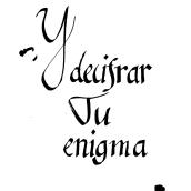 Mi Proyecto del curso: Introducción a la caligrafía itálica. Un proyecto de Caligrafía, H y lettering de silver_s - 10.04.2021