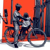 RUST & DUST. Un proyecto de Ilustración de Dani Blázquez - 10.04.2021