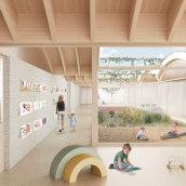 """""""Escoleta"""" en Mallorca. A Architecture, Interior Architecture, Architectural illustration, and ArchVIZ project by Architecture On Paper - 04.10.2021"""