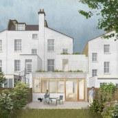 Rehabilitación apartamento en Londres. A Architecture, Interior Architecture, Architectural illustration, and ArchVIZ project by Architecture On Paper - 04.10.2021